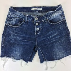 Hippie Laundry Denim Jean Cut Off Shorts